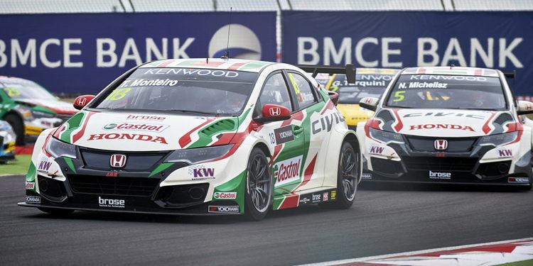 Honda sigue luchando por el título del WTCC en Nürburgring