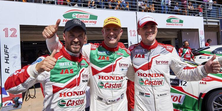 Los pilotos de Honda, expectantes ante la cita de Nürburgring