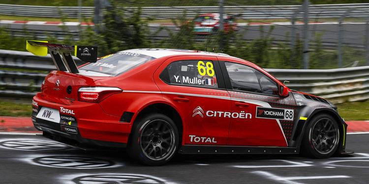Yvan Muller se impone en la sesión de Testing