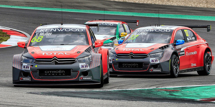 Citroën sale reforzado de Nürburgring