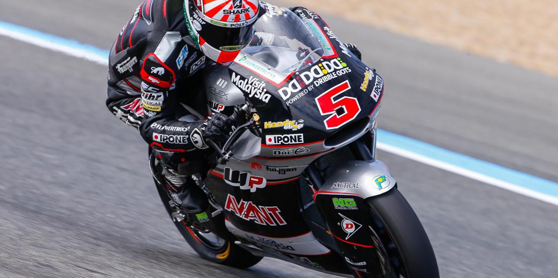 Moto2: Zarco consigue la pole entre homenajes a Salom