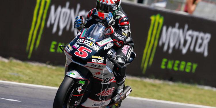 Moto2: Hachazo de Zarco y liderato de Rins