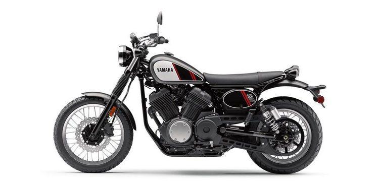 Yamaha presenta la nueva SCR950 Scrambler