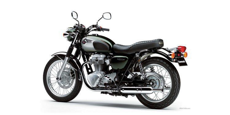 Se rumorea una sucesora refrigerada por agua para la Kawasaki W800