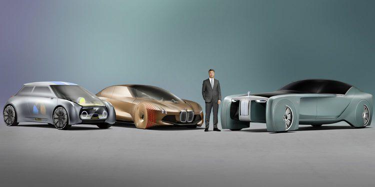 MINI y Rolls Royce imaginan como serán sus modelos dentro de 100 años