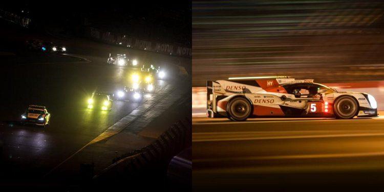 Toyota sigue mandando tras la salida del sol en Le Mans