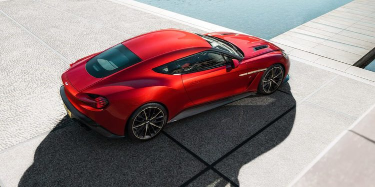 Aston Martin confirma la fabricación limitada del Vanquish Zagato