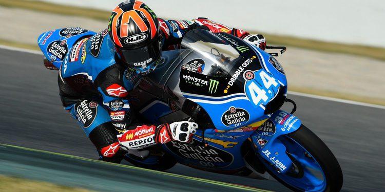 Moto3: Aron Canet demuestra su talento siendo el más rápido