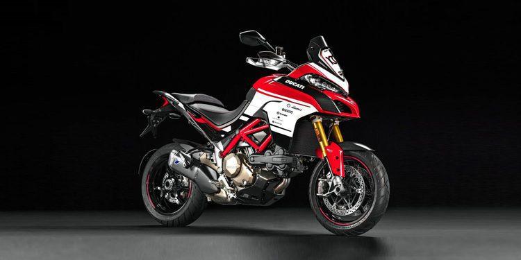 Ducati lanza la Multistrada 1200 Pikes Peak Centennary Edition