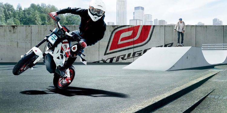Suzuki patenta la EXTRIGGER, rival eléctrica para la GROM de Honda