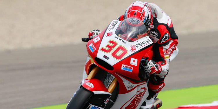 Moto2: Primera victoria de Nakagami, el sol por fin fue naciente