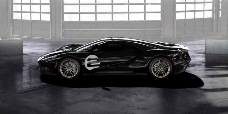 Ford lanza la edición especial 66 Heritage Edition del GT 2017