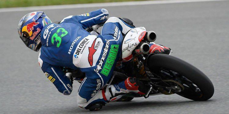 Moto3: Enea Bastianini el más rápido en la primera jornada