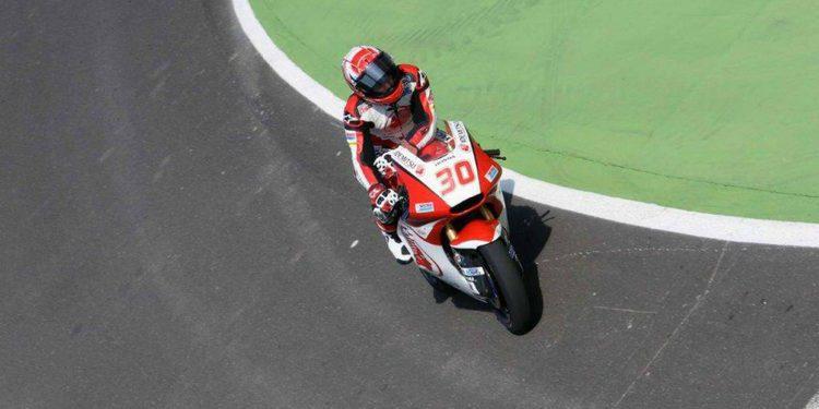 Moto2: Nakagami pole sobre la bocina