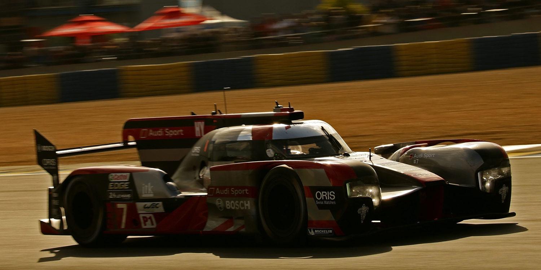 Audi logra la pole y el doblete en Alemania