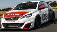 Peugeot prueba el 308 Racing Cup en Francia