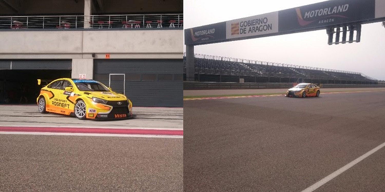 Lada Sport completa unas jornadas de pruebas en Motorland