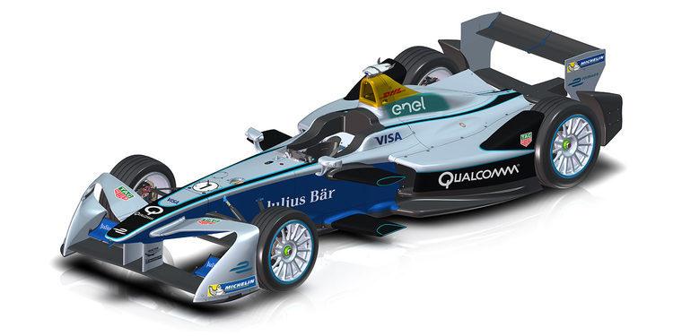 FE258: el monoplaza para la tercera temporada de la Fórmula E