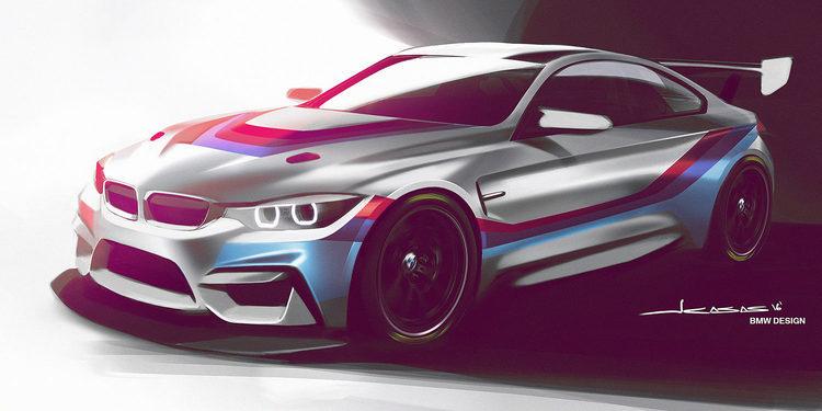 BMW presenta el nuevo M4 GT4