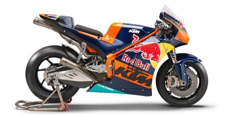 KTM presenta de manera oficial su RC16 de MotoGP