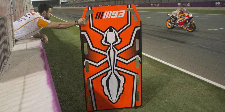 De la radio al display en MotoGP, o no...