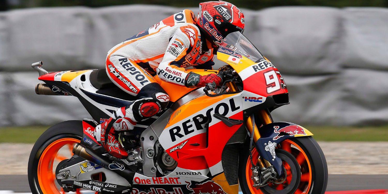 MotoGP: Salvada y mejor tiempo para Marc Márquez