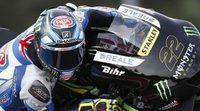 Alex Lowes prueba la Yamaha M1 en Brno
