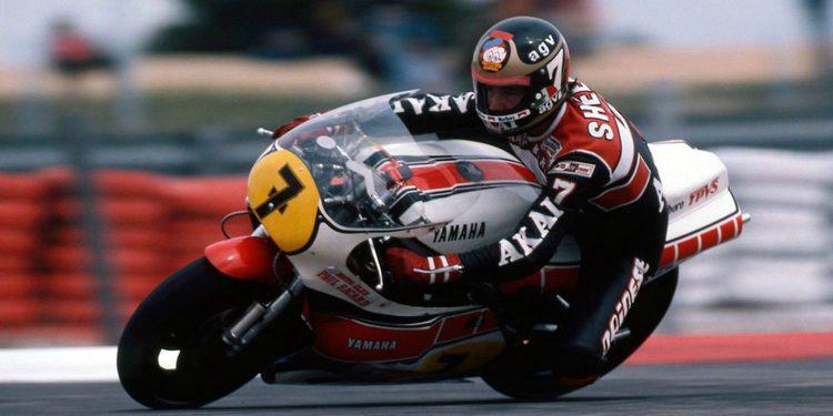 Homenaje a Barry Sheene por su primer título de 500cc