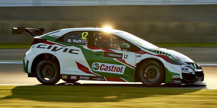 Honda consigue la primera línea en la carrera inicial en Motegi
