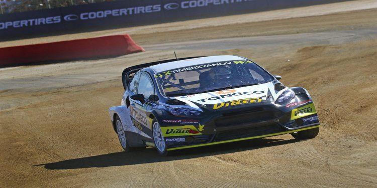 Rallycross Lohéac: Mattias Ekström domina el sábado francés