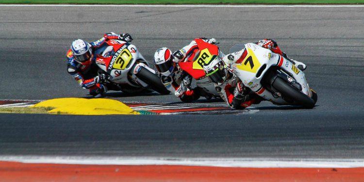 Iker Lecuona y su primer contacto con el mundial de motociclismo