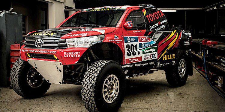 Toyota prepara su buggy para el Dakar 2017