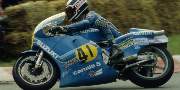 Franco Uncini ya es una MotoGP Legend