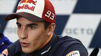 Nuevo casco de Marc Márquez para los viernes de GP