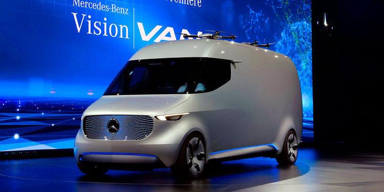 Vision Van, la furgoneta eléctrica de Mercedes-Benz