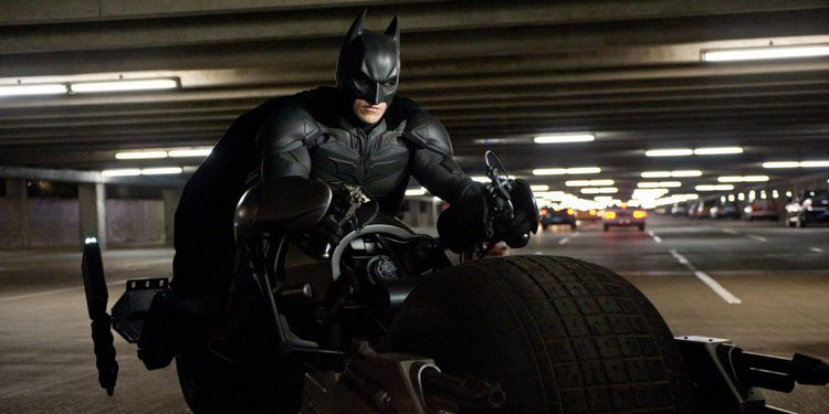 Se subasta la moto de Batman, El Caballero Oscuro