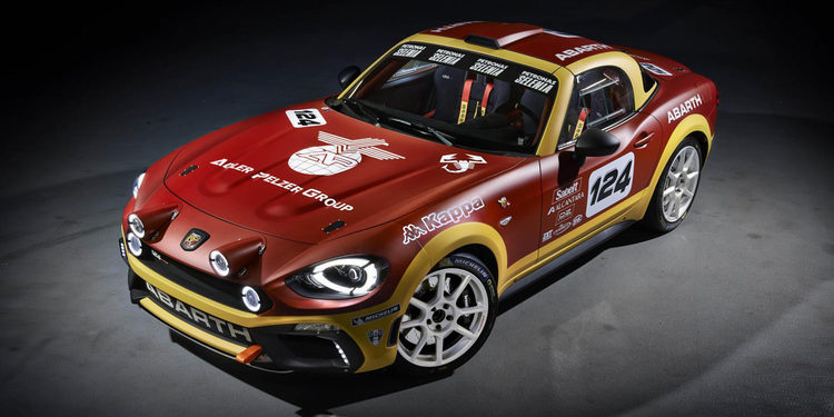 El novedoso Abarth 124 Rally prepara su debut