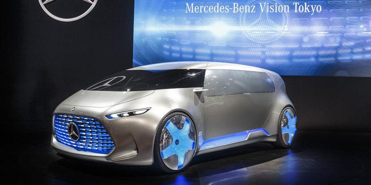 El espacial Mercedes-Benz Vision Tokio