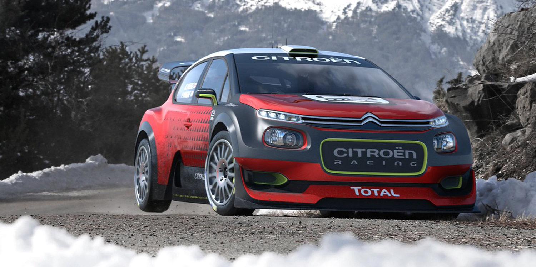 Citroën presenta el C3 WRC Concept