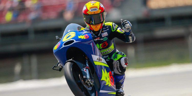Moto3: Arguiñano echa una mano a María Herrera