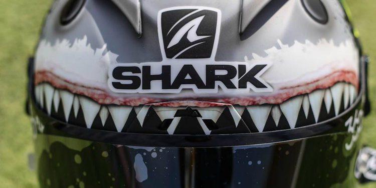 El casco tiburón de Jorge Lorenzo