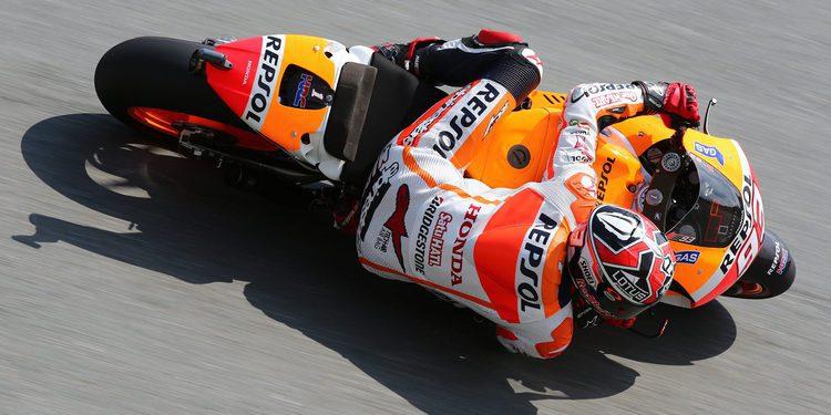 MotoGP: Marc Márquez, el jefe del crono en MotorLand