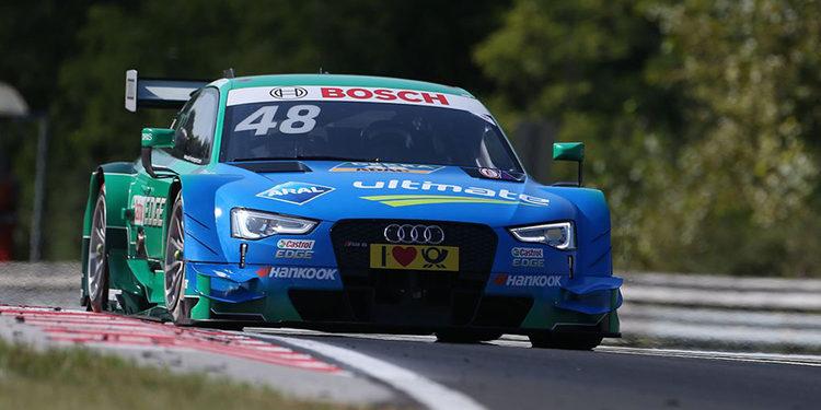 Mortara también saldrá primero en la segunda carrera de Budapest