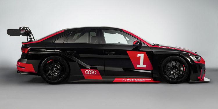 Audi entra en las TCR Series con el RS 3 LMS