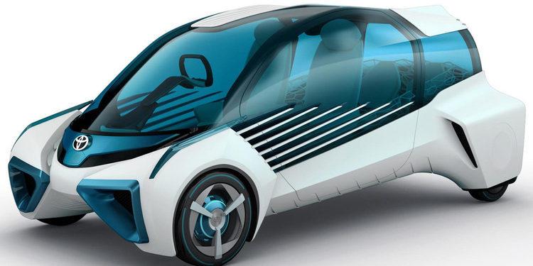 El nuevo Toyota FCV Plus Concept te mantendrá con energías
