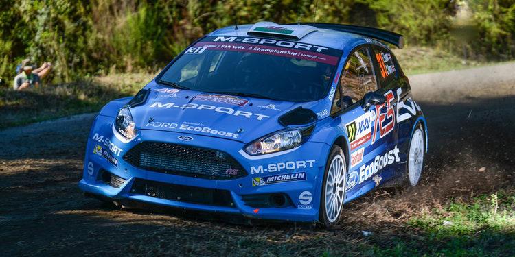 Elfyn Evans triunfa en Córcega dentro del WRC 2