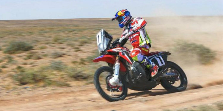 Barreda arrasa en China y apunta al Dakar 2017