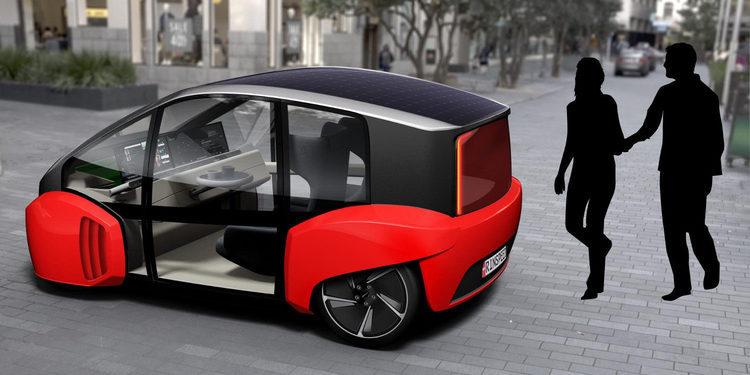 Rinspeed Oasis, un vehiculo urbano inteligente