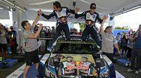 Ogier y la alta probabilidad de ser campeón en Cataluña