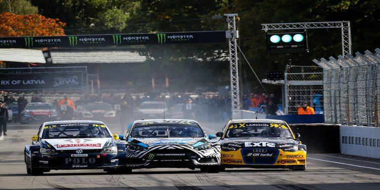 Rallycross: Sorteo de la Q1 en Estering